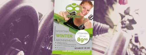 Neem nu een Winter Abonnement bij Sportinn Steenwijk!